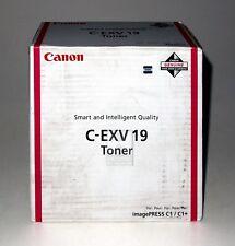 Canon Toner C-EXV19 Magenta 0399B002, für imagePress C1 / C1+