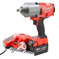 Milwaukee 2767 20 M18 Fuel 12 1400 Ftlbs 50 Ah High Torque Wrench Impact Kit