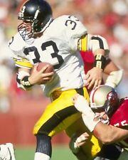 MERRIL HOGE 8X10 PHOTO PITTSBURGH STEELERS NFL FOOTBALL VS 49ERS