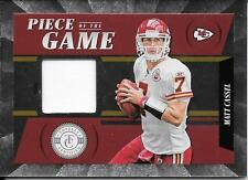 2011 Totally Certified Piece Of The Game #24 Matt Cassel Prime Jersey #35/49
