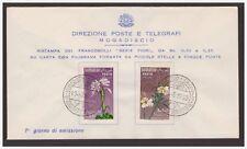 SOMALIA AFIS 1959 - FIORI  - FDC