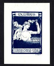 16)Nr.029- EXLIBRIS- F. Vigano