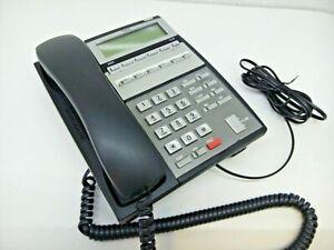 NEC IP3NA-6TXH Phone UX5000 6DG 6-Button Digital Black/Charcoal Tested Warranty