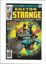 "Doctor Strange #23 [1977 Vg-Fn] ""Into The Quadriverse!"""