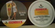 Bierdeckel Isenbeck Brauerei Premium Pils FvB Tauschbörse Hamm 2. April 2011 *18