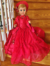 """Vintage 1950s 1960s Deluxe Reading Allied Eastern Supermarket Fashion Doll 24"""""""