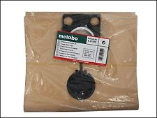 Metabo Paper Filter Bags For ASR Wet & Dry Vacuum Cleaners Pack of 5 MPTASRBAGS