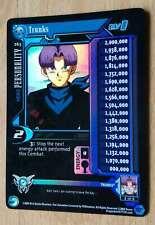 TRUNKS LV1 FLAT LIMITED [Played] #263 Dragon Ball Z Ccg Tcg Dbgt Score