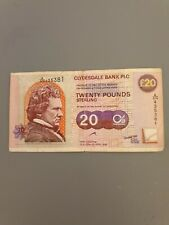 More details for clydesdale bank £20 glasgow city of architecture & design 1999.