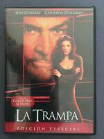 DVD LA TRAMPA Sean Connery Catherine Zeta Jones Will Patton JON AMIEL