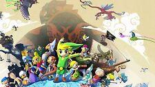 "Nintendo Gamecube Zelda Windwaker Fridge Magnet 3.5"" x 2.5"" Game Decor #2"