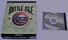 BATTLE ISLE 2200 Big Box Vintage Retro Computer Game 1994 CD PC