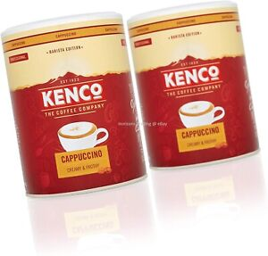 2 x Kenco Coffee - Instant Cappuccino 750g Barista Edition [Free UK Postage]