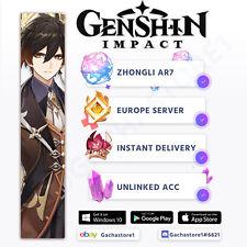 [Europe/EU] Genshin Impact Zhongli Starter Account [Instant Delivery]