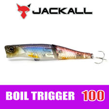 JACKALL BROS. Boil Trigger 100 Jointed Popper Floating Lure SPAWNING WAKASAGI