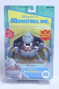 HASBRO DISNEY MONSTERS INC. CEO HENRY J WATERNOOSE ACTION FIGURE NEW ON CARD