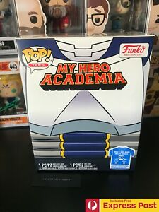 MY HERO ACADEMIA TENYA WITH HELMET FUNKO POP VINYL FIGURE + TEE BOX MEDIUM #740