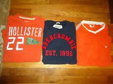 Abercrombie Fitch Mens XL Bundle T-Shirt Lot  3 American Eagle Hollister