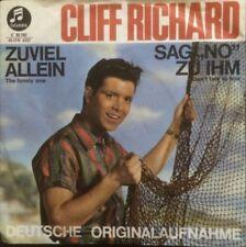 """CLIFF RICHARD - ZUVIEL ALLEIN / SAG NO ZU IHM 7"""""""