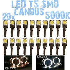 Nr 20 LED T5 5000K CANBUS SMD 5050 Scheinwerfer Angel Eyes DEPO Opel Astra H 1D2