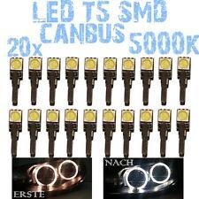 Nr 20 LED T5 5000K CANBUS SMD 5050 Scheinwerfer Angel Eyes DEPO Opel Astra G 1D2