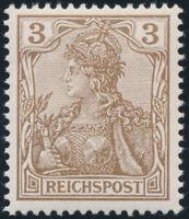 DR 1900, MiNr. 54 b, tadellos postfrisch, Befund Jäschke-L., Mi. 440,-