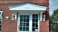 Pacific GRP (Fibreglass) Door Canopy 1850mm wide Inc Free Gallows Brackets S*