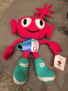 "PRIMECO Pink ALIEN Monster PLUSH 12"" w/ tags Vintage 1998"
