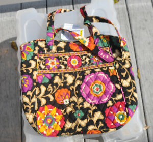 Vera Bradley Holiday Tote in RETIRED Suzani - New with Tags & Smoke Free Home