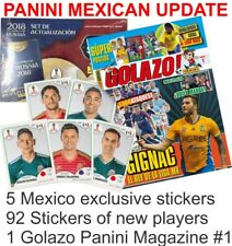 MEXICO UPDATE SET STICKERS & GOLAZO PANINI WORLD CUP RUSSIA 2018 MEXICAN EDITION