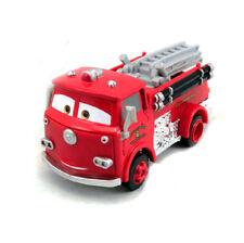 Disney Pixar Movie Cars Diecast Red Fire Engine Truck 1:55 Loose Car Toy