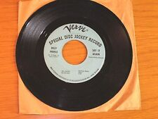 """PROMO NORTHERN SOUL 45 RPM - BILLY PRINCE - VERVE 10392 - """"SAY IT AGAIN"""""""