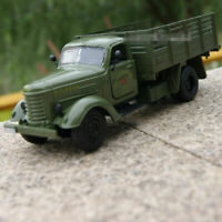 1:32 Scale Car&light Sound Army Green Jiefang military truck Vehicle Car Model