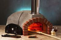 "Premio2G 120 Indoor / Outdoor 48"" Wood Fired Pizza Oven Kit"