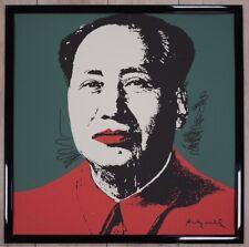 A - Andy Warhol Mao Zedong Lithograph Limited 2400 pcs.