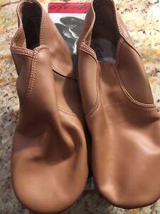 SlipOn Jazz Shoes Suntan Color Sz 9M