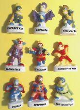 FEVES  LES SIMPSON SUPER HEROS  série complète ..ref.B97
