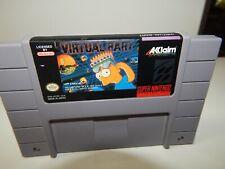 SNES Super Nintendo Virtual Bart