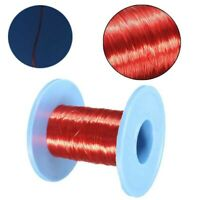 100m Magnet Wire 0.2mm QA Enameled Copper Wire Magnetic Coil Winding Roll Tool