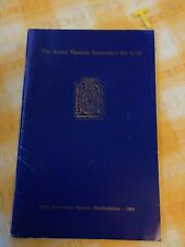 More details for the royal masonic institution for girls. year book 1984 , freemasonry