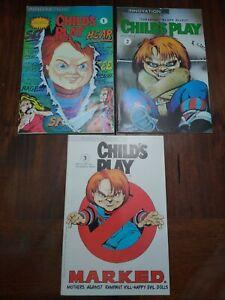 Child's Play #1 2 3 Innovation Comics Chucky Horror - VF