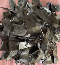 Exotic Lizard Hide Leather Head Wallet Belt Origami Needlework Upholstery 2Lb