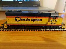 Athearn HO Scale Powered GP-35 Locomotive B & O Chessie System No. 3547