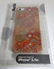 PointMobl Paisley Floral Print Pattern Case for iPhone 5/5S (IL/PL1-4462-1709...