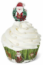 Christmas Santa Baking Cup Combo Pack from Wilton #1826 - NEW