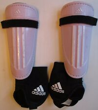 Adidas Girls Shin Guards Size S Performance Youth Soccer Pink & White