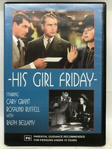 His Girl Friday - DVD - AusPost with Tracking