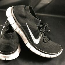 wholesale dealer c3632 5f06e NIKE FREE 5.0 FLYKNIT 615805-010 Men Athletic Sneakers Size 8.5 Black  Anthracite