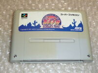 SFC SNES ASCII Gunman's Proof It's Strange World Gunpuru ActionRPG SHVC-AXAJ-JPN