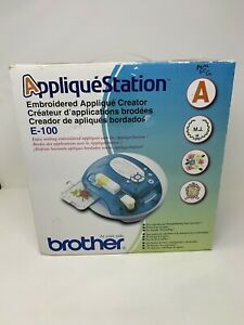 Brother Embroidery Applique Creator Station/  Patchmaker/ Model E100 Open Box
